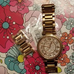 Crystal MK Watch
